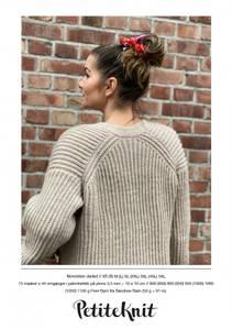 Bilde av PetiteKnit November jakke - Garnpakke