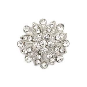 Bilde av Knapp med Diamanter/Bling 22mm
