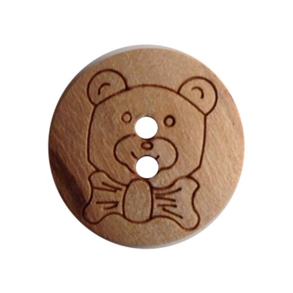 Rund Treknapp Teddy